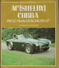 AC COBRA MK 1 2 3 260 289 427  1962 - 1967 DEVELOPMENT & PRODUCTION HISTORY BOOK
