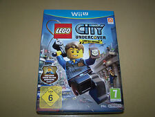 Lego city undercover limited edition avec figurine Wii U ** neuf non scellé **