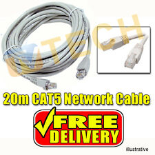 20M Cat5E Cable Network Cable Lan Cable EIA/TIA-568B Category 5e RJ45 Ethernet