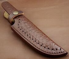 Beautiful Hand Made-Hand Craft Cow Hide Leather Sheath- For Knives 995