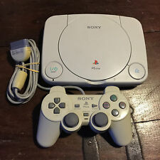 SONY PS1 PSX PSONE CONSOLE #1 CONSOLE AND CONTROLLER ONLY SCPH-102  *PAL*