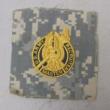 Genuine ACU US Army MASTER RECRUITER Cloth Uniform Badge