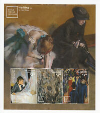St Vincent Grenadines 2014 MNH World Famous Paintings 3v M/S Edgar Degas Braque