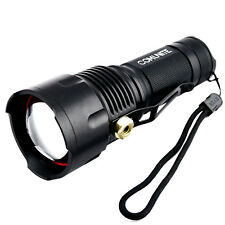 COMUNITE 3000LM CREE XM-L2 U2 LED Zoomable Tactical 26650/AA Flashlight Torch