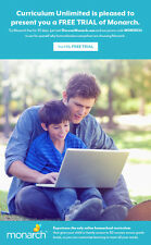 Try 30 day FREE TRIAL of Monarch Homeschool Curriculum .01, Alpha Omega