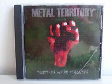 CD ALBUM Metal Territory 3  Together we're stronger KRONOS INHUMATE DESTINITY