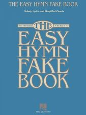 The Easy Hymn Fake Book Sheet Music Over 150 Songs in the Key of C Eas 000240207