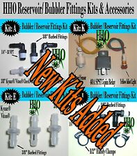 Reservoir Fittings Kits & Accessories; HHO Deluxe Bubbler Check Valves Dry Cell