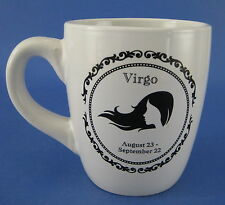 Virgo Zodiac Sign Ceramic Coffee Mug August September Birthday