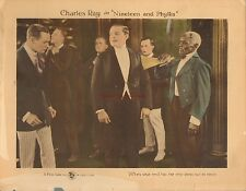 Original Lobby Card 1920 Nineteen and Phyllis Charles Ray Silent Film