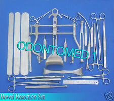 BOWEL RESECTION Set + Basic LAPAROTOMY Surgery Pack Set