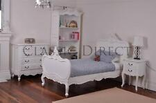 Bed Single French Provincial Antique White Reproduction SRP $1500