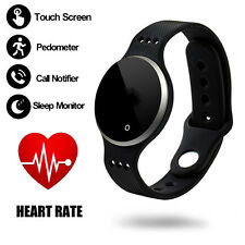 Waterproof Bluetooth SmartWatch Bracelet Band Heart Rate Monitor Fitness Tracker