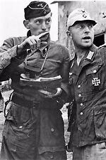WW2 - Bourgthéroulde 25.08.44 - Officiers du IIème SS-Panzerkorps
