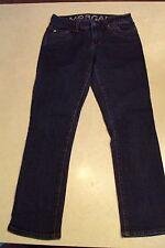 Womens Juniors Girls Delia's Morgan Dark Wash Stretch Skinny Denim Jeans Size 0