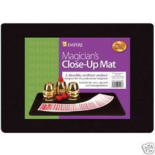 BLACK PROFESSIONAL MAGICIAN CLOSE UP MAT PAD BLACK MAGICIAN CLOSE UP MAT