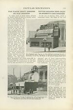 1918 Magazine Article Giant Cash Register Built for War Bond Sale Dayton Ohio
