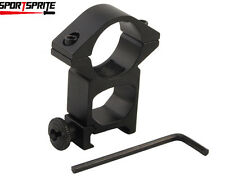 Tactical 25.4mm High QD Scope Flashlight Ring Mount fit for 20mm Rail Gun Rifle