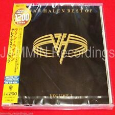 VAN HALEN - Best Of: Volume 1 - Japan CD - WPCR-15316 - RARE OOP