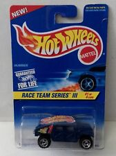 Hot Wheels 1997 Race Team III 1/4 533 Hummer Blue rz3 Malaysia