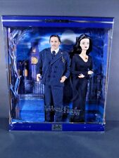 NIB BARBIE DOLL 2000 ADAMS FAMILY KEN GIFT SET MORTICIA GOMEZ