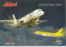 Schuco Star JETS Gemini Jets Collection, 2003 catalogo