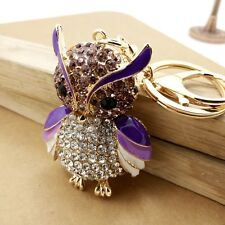 Fashion Owls Keychain Key Chains Handbag Buckle Charms Accessories Pendant YK04
