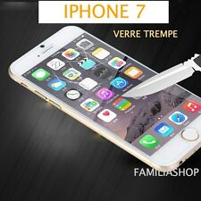 iPhone 7 VERRE TREMPE TRANSPARENT Film de protection écran 4.7