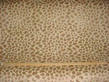 8-3/8Y MARCOVALDO CHEETAH LEOPARD IN GOLD HEAVY VELVET UPHOLSTERY FABRIC
