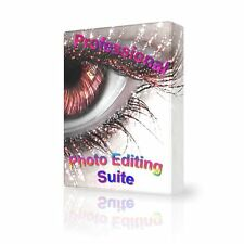 Pro Photo Editing Portable Suite, GIMP, Digital, Editor, Compatible CD