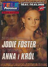 TELE PROGRAM 2000/101 (10/3/2000) JODIE FOSTER KUKULSKA JOVOVICH CRUISE (2)