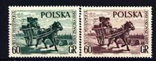 POLAND - POLONIA - 1961 - Giornata del francobollo e  40° anniversario del Museo