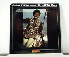 ESTHER PHILLIPS  LP For all we know 1975 Kudu