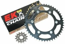 2011 2012 2013 Suzuki DR650 DR650SE 525 EK O-Ring Chain Front Rear Sprocket Kit