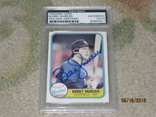 Bobby Murcer AUTOGRAPHED Trading Card PSA Certified