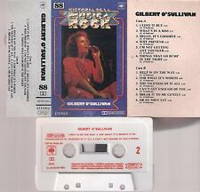GILBERT O´SULLIVAN Histora Rock RARE SPANISH cassette  1976 PAPER LABEL SPAIN
