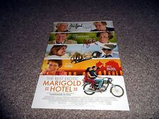 "THE BEST EXOTIC MARIGOLD HOTEL PP SIGNED 12"" X 8"" A4 PHOTO POSTER JUDI DENCH"