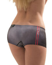 CROOTA Womens Boyshort Underwear, Seamless Low Rise Panty, size M