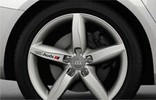 AUDI wheel stickers decals A3 A4 A6 A8 4pc set