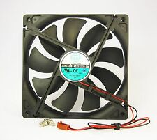 140mm 25mm Case Fan 12V DC 153CFM CPU Computer Cooling 2 Wire Ball Bg 14025 409*