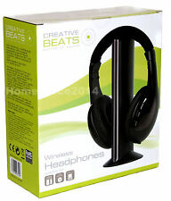 Creative Beats Wireless Over Ears Headphones Brand New