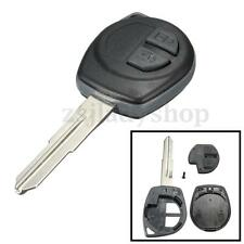 2 Button Remote Key Fob Shell Case Rubber Pad For Suzuki Vitara Swift Ignis Alto