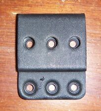 eagle industries G-CODE narrow belt loop slide to mount holster black kydex 1.75