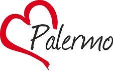 Auto Aufkleber PALERMO Sticker Stadt Italien ca.9x14cm konturg.