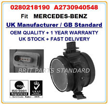 Mercedes-benz vito 126 viano 3.5 masse air flow meter sensor 0280218190 2007 ~