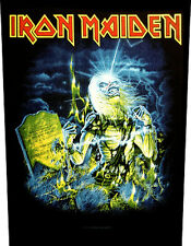 IRON MAIDEN - Rückenaufnäher Backpatch Live after death