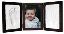 Clay Keepsake Photo Desktop Frame Red Mahogany Wall Picture Gift Free Shipping 1