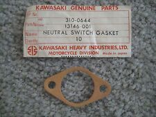 KAWASAKI A7SS/A7/A1/A1R/F/F21M/B8/C2/J1 TOP NEUTRAL SWITCH GASKET NOS!