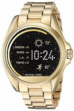 NIB Michael Kors MKT5001 Access Touch Screen Gold Bradshaw Smartwatch