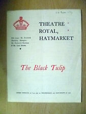 1899 Theatre Royal Programme- Cyril Maude in THE BLACK TULIP by S Grundy